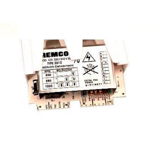 Модуль электронный, плата управления для стиральной машины Hotpoint-Ariston 051331 REMCO TYPE 5510