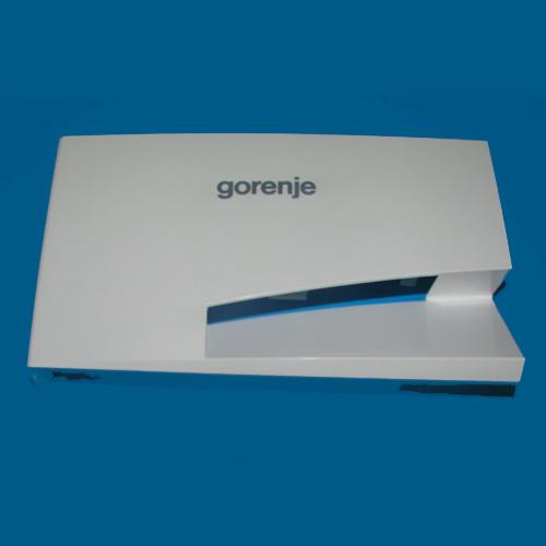 Ручка, панель дозатора моющих средств для стиральной машины Gorenje 587808