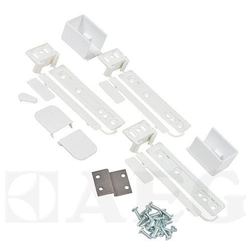 Крепеж фасада встроенного холодильника Electrolux, Zanussi, AEG 2367141864