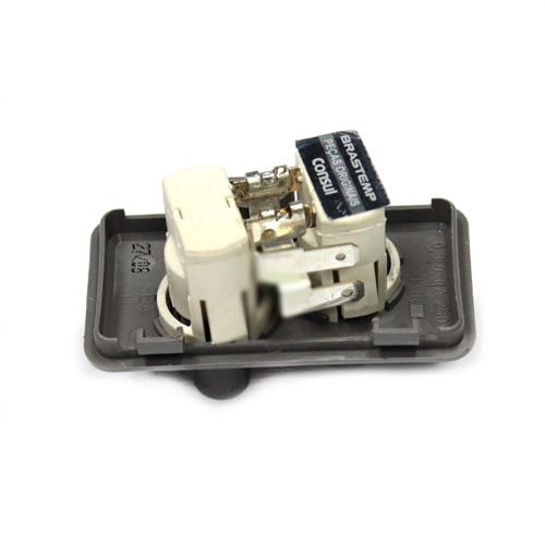 Выключатель (кнопка) света для холодильника Whirlpool, Bauknecht 481246818394