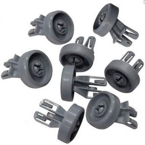 Комплект (набор) роликов (колесиков )к верхней корзине посудомоечной машины Whirlpool 481252888112