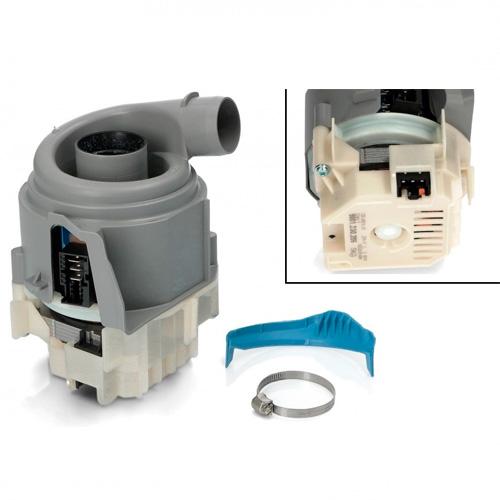 Двигатель с тэном для посудомоечной машины Bosch, Siemens, Neff, Gaggenau 12019637