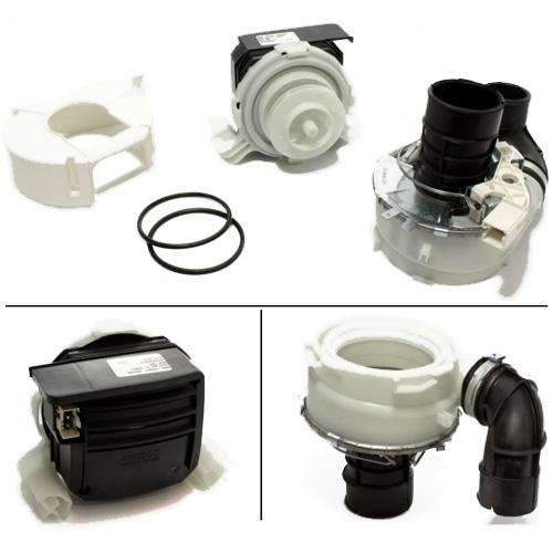 Мотор (двигатель) циркуляционный с тэном для посудомоечной машины Electrolux, AEG 4055373791