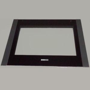 Внешнее стекло двери духовки Beko 210300794