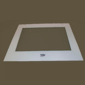 Внешнее стекло двери духовки Beko 210110067