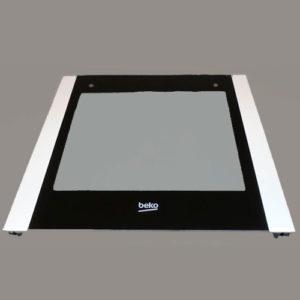 Внешнее стекло двери духовки Beko 410300273
