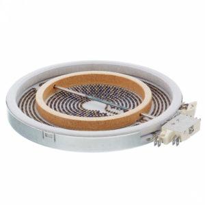 Конфорка для стеклокерамической плиты Bosch Siemens 356337 2200/1000 W 230V Original