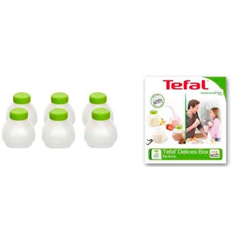 Набор бутылочек для йогуртницы TEFAL XF102032
