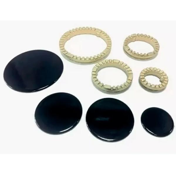 Комплект рассекателей и крышек для плиты Ariston Indesit 053055