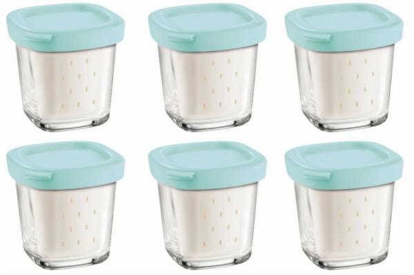 Баночки для йогуртницы TEFAL XF100000 / XF100101