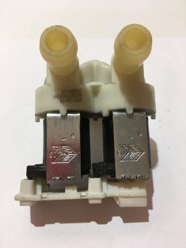 Клапан (электромагнитный) подачи воды для стиральной машины Whirlpool AWS61012