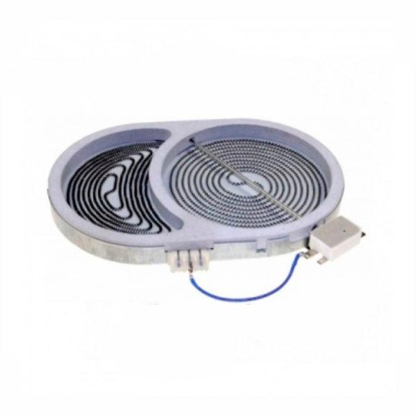 Конфорка для стеклокерамической плиты Gorenje 607620 2400/1500W Original