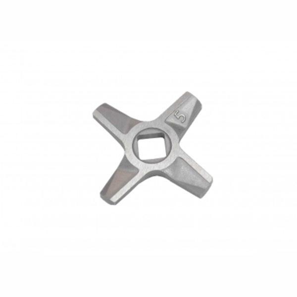 Нож №5 двухсторонний для мясорубок Bosch, Zelmer 861009