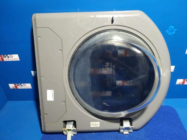 Люк Б/У для стиральной машины HotPoint-Arisotn (Серый, без дисплея)