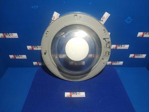 Люк Б/У для стиральной машины Beko WM5350TS (Серебристый)