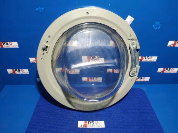 Люк Б/У для стиральной машины GO4W264 (серебристый)