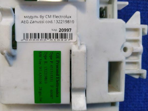 Модуль Б/У для стиральной машины Electrolux AEG Zanussi cod.132219810