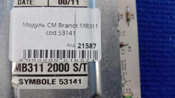 Модуль Б/У для стиральной машины Brandt MB311 cod.53141
