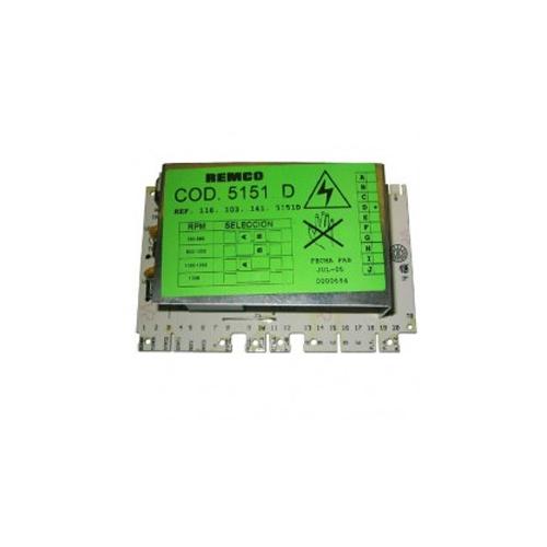 Модуль электронный, плата управления для стиральной машины Hotpoint-Ariston 078554 REMCO COD 5151