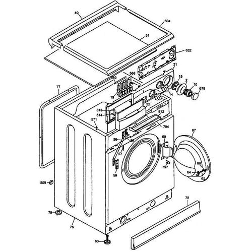 Дисплей стиральной машины Hansa 1036031