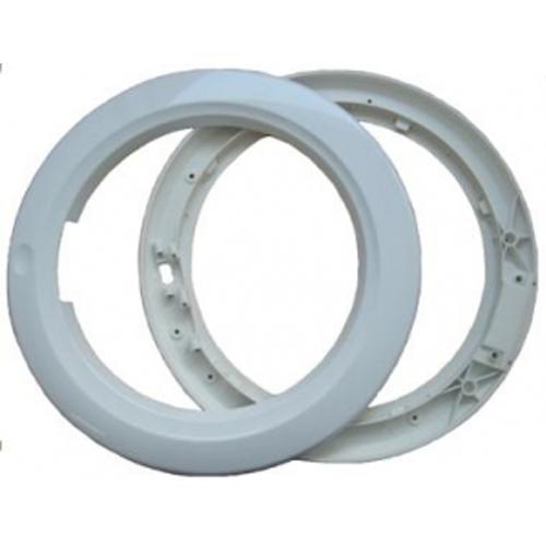 Наружное и внутреннее обрамления люка стиральной машины Indesit, Ariston 058449