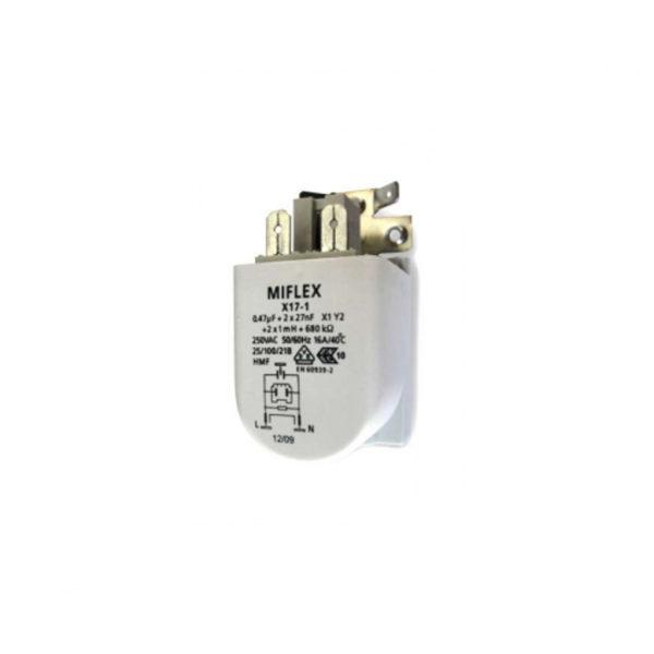 Сетевой фильтр радиопомех для стиральной машины Gorenje 192570 / 587576 / 291559 MIFLEX